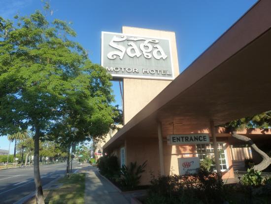 Saga Motor Motel Picture Of Saga Motor Hotel Pasadena