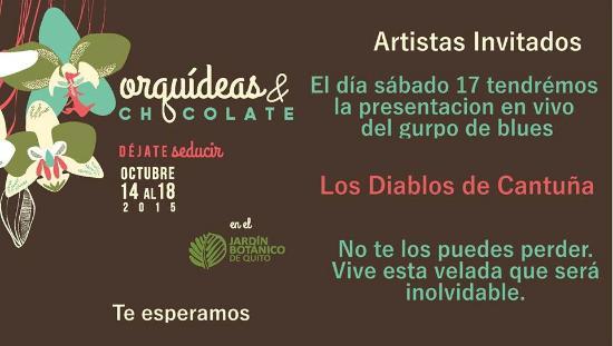 Evento de orquideas y chocolate en jard n bot nico for Actividades en el jardin botanico de caguas