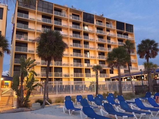 Bilmar Beach Resort Shells Building