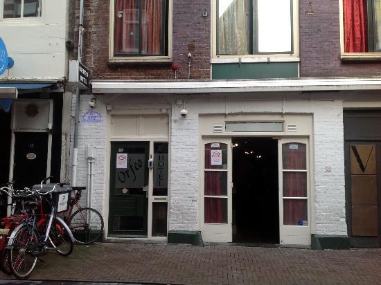 Amsterdam Hostel Orfeo : Фасад