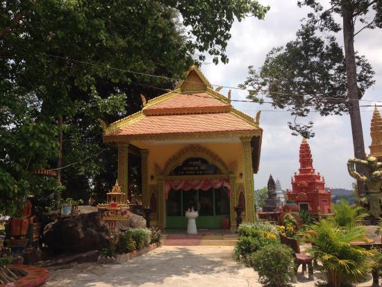 Me Picture Of Wat Krom Temple Sihanoukville Tripadvisor