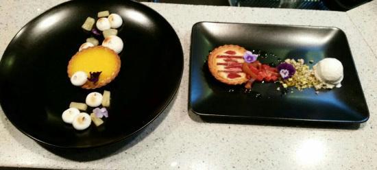 Dantes: duo of desserts