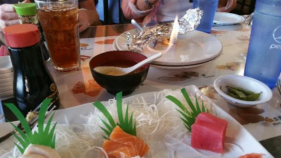 Sushi House : Extremely fresh sashimi and tasty California rolls! Lots of free samples and everything was cook