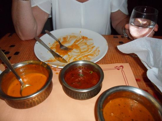 Indian Tandoor House: nothing left on plate delicious