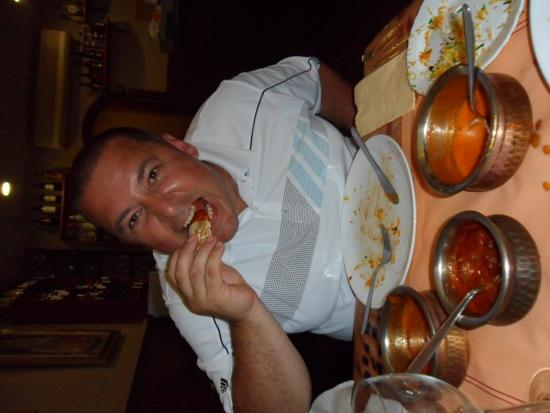Indian Tandoor House: trying the phall curry