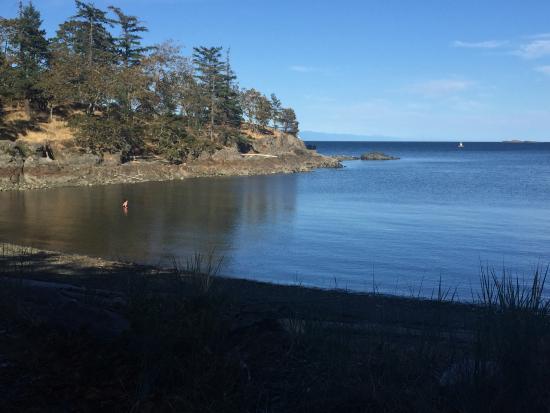 นาไนโม, แคนาดา: View across the bay from the parking lot
