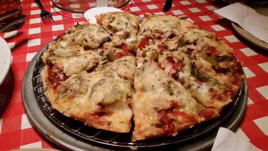 "Aurelio's Pizza: 10"" garbage pizza"