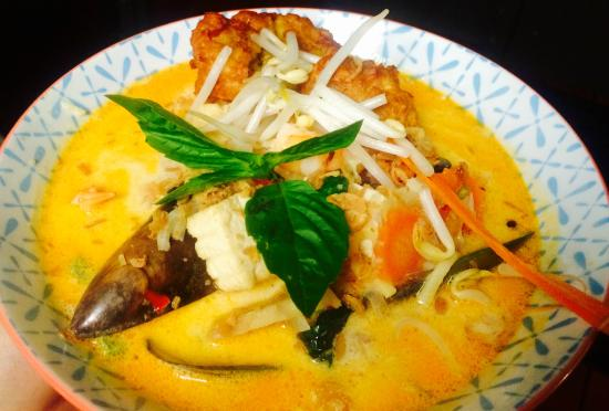 Java Warung : Spicey Seafood Curry
