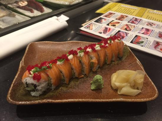 Meiwah Restaurant: TNT roll, Wild West roll