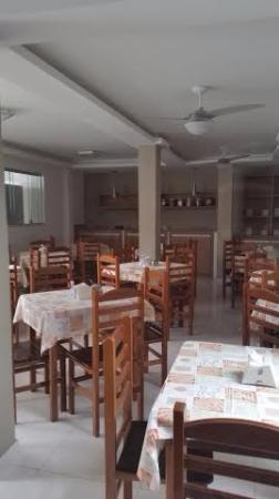 Pousada Marissol: Salão do café da manhã