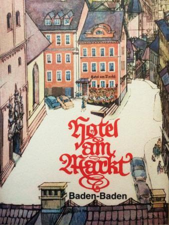 Hotel Brochure Picture Of Hotel Am Markt Baden Baden Tripadvisor
