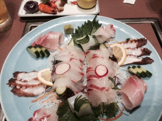 Kameya Hotel Hana-Tsubaki: 夕食