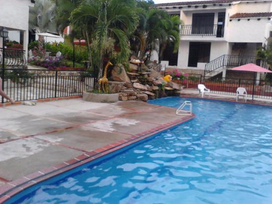 Piscina fotograf a de hotel campestre santiago del alma for Piscina hotel w santiago