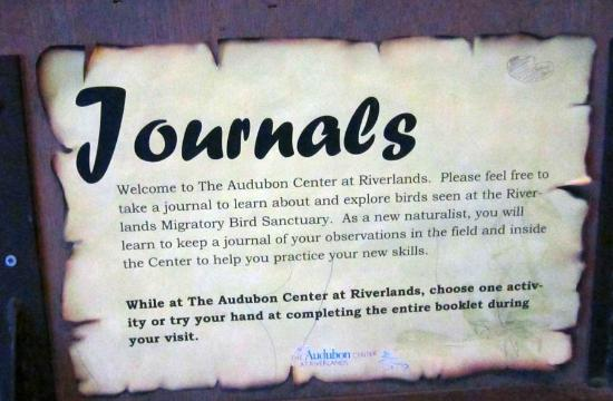 West Alton, MO: The center provides journals in which visitors can record their sightings.