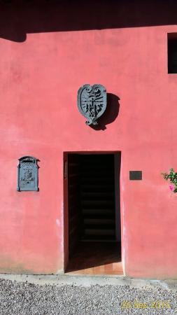 Villa Cambi B&B: Entrance to breakfast room