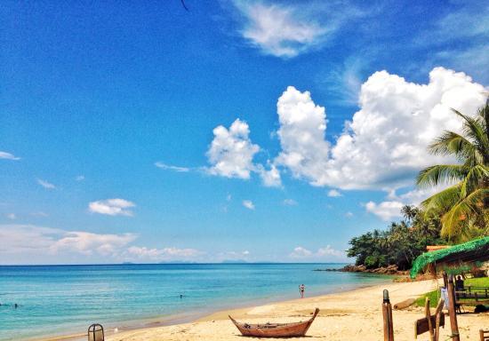 Lanta Palace Resort & Beach Club: บรรยากาศดีมากๆๆ ทะเลสวย ชาดหาดสามารถเล่นน้ำได้ หาดทรายขาวสะอาด ทรายละเอียดมาก ที่รีสอร์ทมีสระว่า