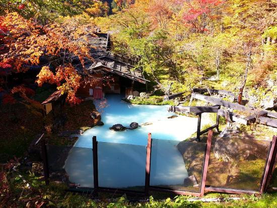 Awanoyu: 泡の湯旅館・野天風呂