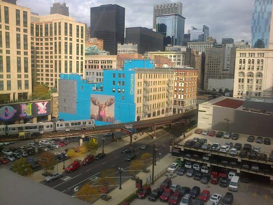 vista desde el cuarto - Picture of Travelodge by Wyndham Downtown ...