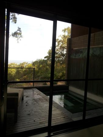 Bowen Mountain, Australia: Cheif Suite plunge pool