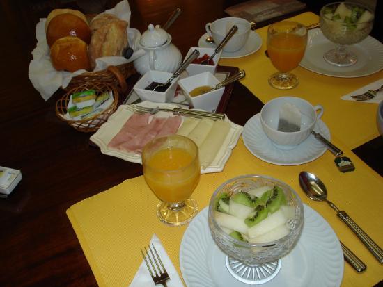 Quinta Sao Goncalo: Frühstück