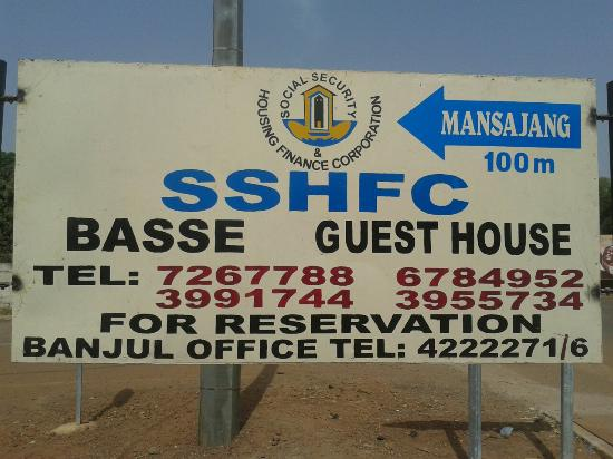 Basse Santa Su, Gambia: SSHFC GUEST HOUSE, BASSE MANSAJANG.  EASILY ACCESSABLE AND AFFORDABLE WHAT A NICE PLACE TO SPENT