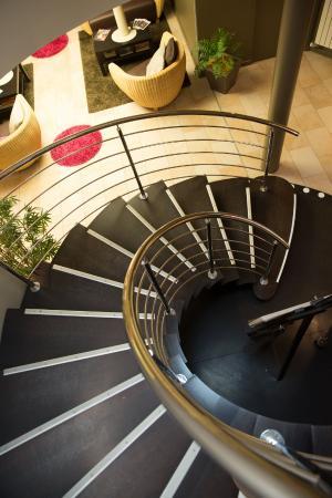Hôtel Le Ceïtya: L'escalier...qui mène aux nos chambres