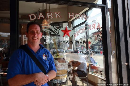Dark Horse Espresso Bar: Me