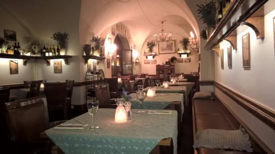 U Minuty : inside the restaurant