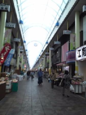 Yokohamabashi Shopping District: アーケードになっています