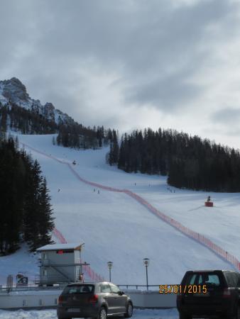 Hotel Ju Furcia : La Prè da Peres pista d'allenamento delle nazionali di sci