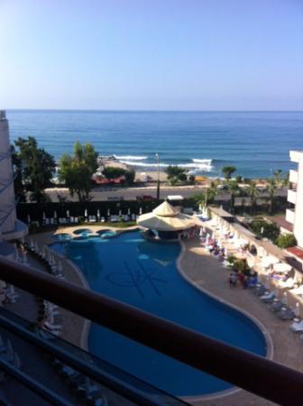 Hotel Grand Kaptan : Utsikt fra Gran Kaptan 5. etasje 17.10.15