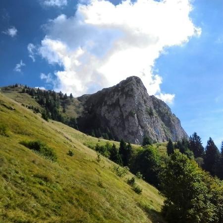 Zone, Italie: Salita sul monte Golem e arrivo in cima al Redentore
