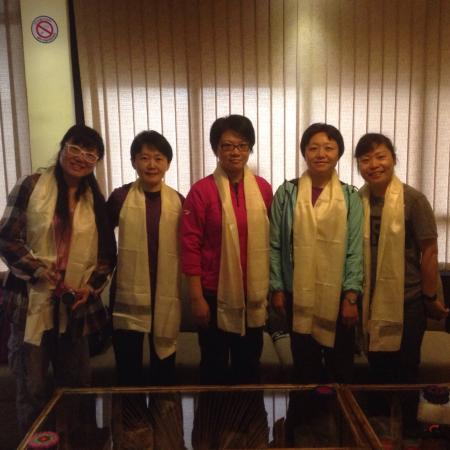 Hotel Buddha Land: Thank u miss. Dongyuan jiang and group for traveling our country and choosing our hotel for the