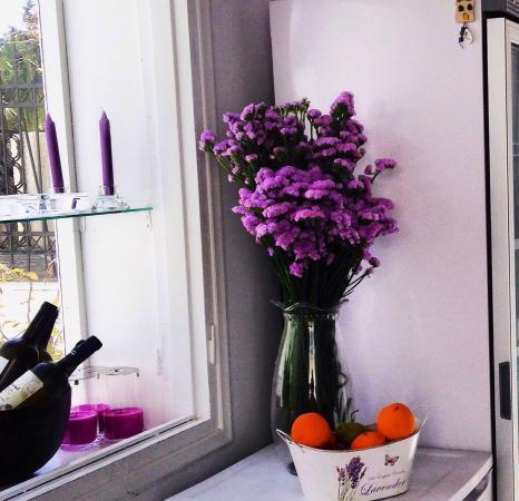 lila cafe santorini summer 2015 at lila cafe - Violet Cafe 2015