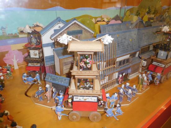 Festival Museum Dondenkan: 城下町を車山が練り歩く犬山祭のミニチュア