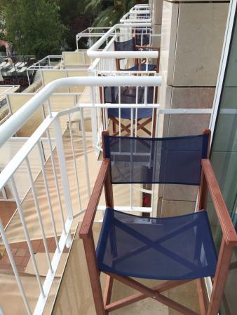 Hotel Cala Galdana & Villas d'Aljandar: Small balcony