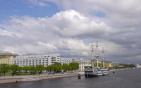 Petrovskaya embankment
