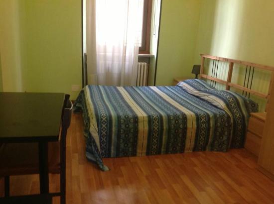 B&B Villa Rosa : stanza verde