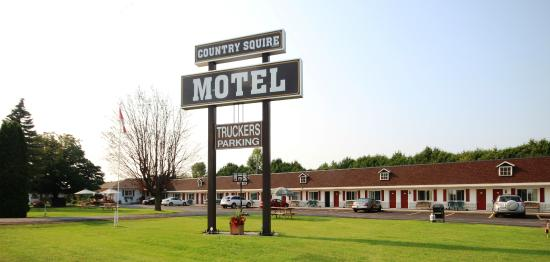 Country Squire Motel : Outdoor