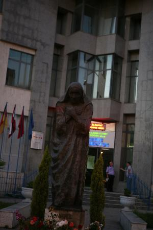 Monument to Mother Teresa