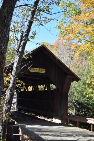 Hyde Park, VT : Covered bridges are nearby and the hosts have great written notes on how to get there