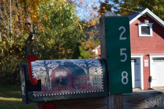 Hyde Park, VT : Even the mailbox is photo worthy