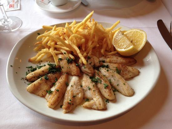 Le Casanova: Жареная рыба из Женевского озера