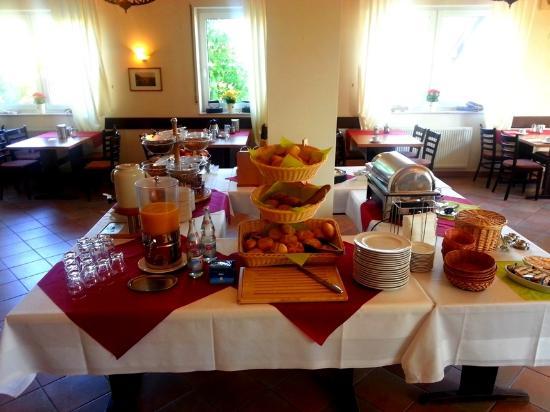 Rhonhof : Frühstück