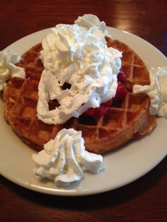 Milbridge, ME: special of the day: waffle