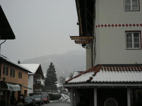 Hotel Garmischer Hof: Декабрь 2013