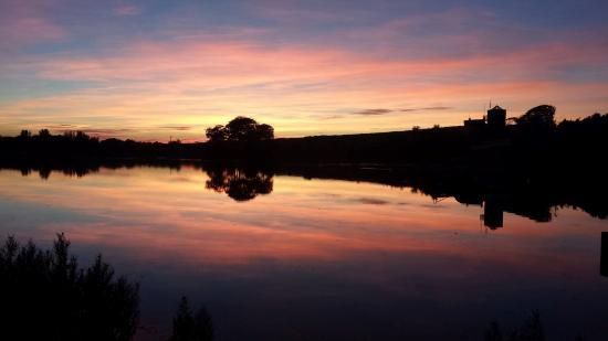 James Hamilton Heritage Park at sunset