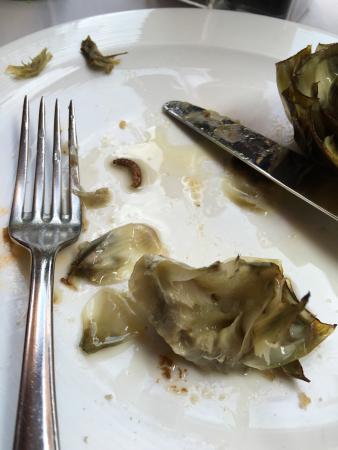 Aderezo : Esto es lo que he encontrado al comer hoy y como disculpa que estaría muy dentro, ni perdón ni n