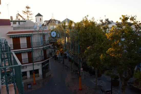 Hotel Plaza Cavana: Blick von Zimmer 203 auf den Plaza Cavana