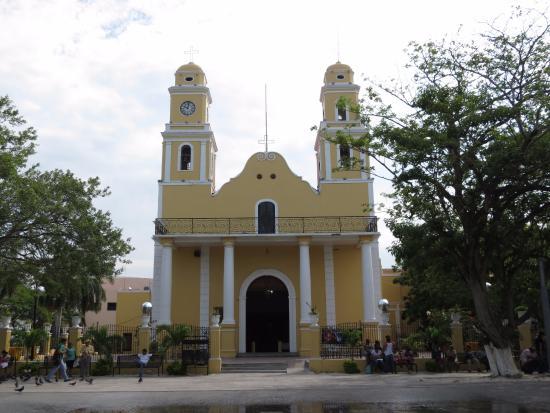 Ciudad del Carmen, Μεξικό: Fachada de la Iglesia de Nuestra Sra. del Carmen